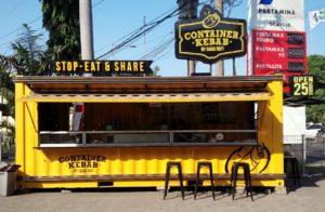 Cotainer Buat Kebab, Kafe Kontainer