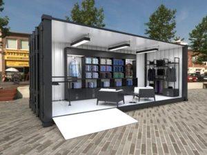 container modifikasi toko baju