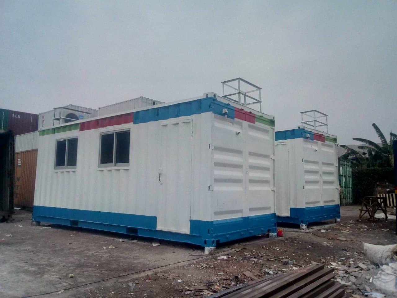 jual Container modifikasi buat kantor, office, kebab, harga kontainer dry 20 feet dan 40 feet, kontainer office standar 40 feet dan 20 feet