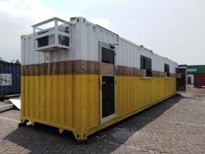 jual office container 40 feet, harga kontainer kantor surabaya