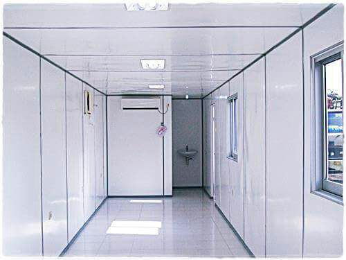 Container Office 40 feet dengan Toilet